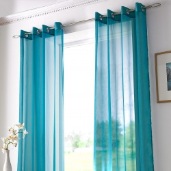 Perdea Voile Teal Set