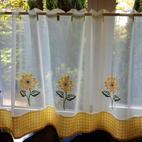 Sunflower Vitraj Voal