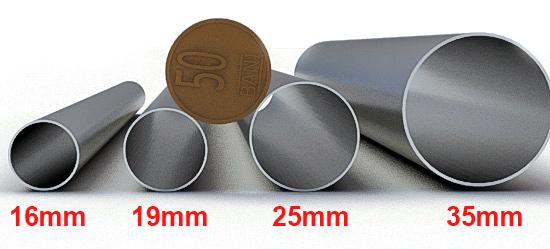 Diametre tevi galerii metalice