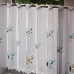 Butterfly Vitraj Voal