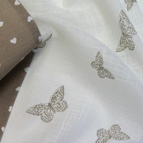 Butterfly Beige set Vitrage