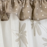 Flowers Beige set Vitrage