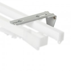 Consola dubla perete 12 cm sistem sine aluminiu